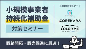 <3/16 (月) 13:00生配信>販路開拓・販売促進に最適! 『小規模事業者持続化補助金』対策webセミナー