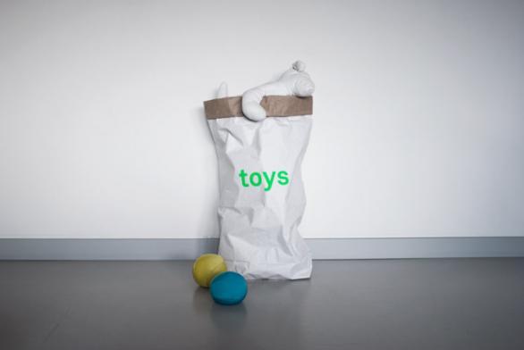 FREEPARKSで買えるkolorのペーパーストレージバッグおもちゃ用