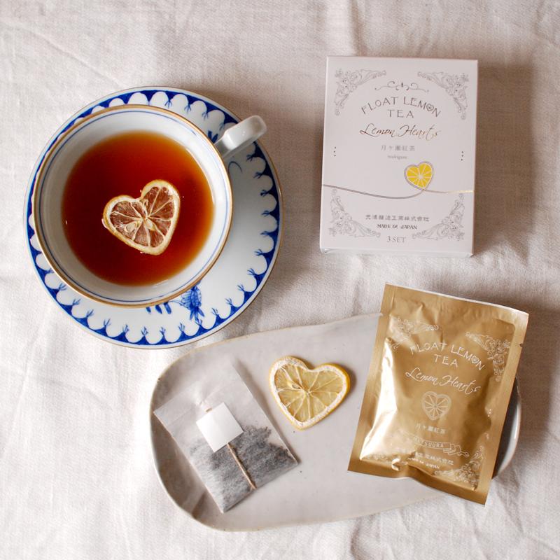 光浦醸造さんの ハートが浮かぶロマンティックなレモンティー (山口)