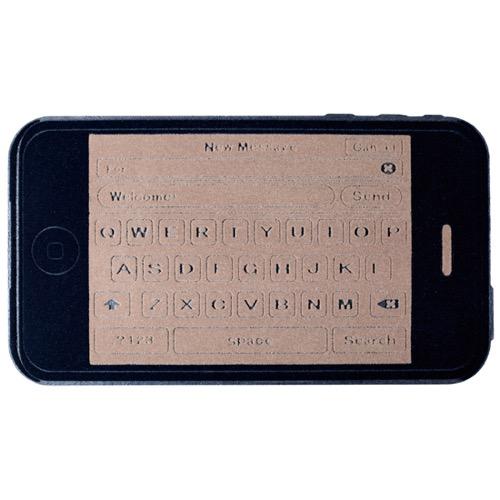 J poshで買えるbalviのスマートフォン型ドアマット