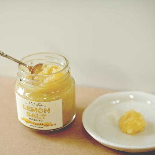 光浦醸造のLEMON SALT 熟成塩レモン