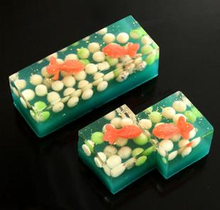 天の川や金魚をとじこめた 七條甘春堂さんの美しすぎる和菓子 (京都)