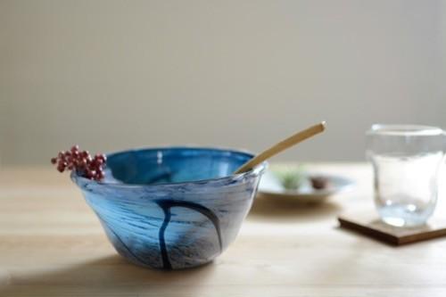Kufuuの夏にぴったりな琉球ガラスのお皿